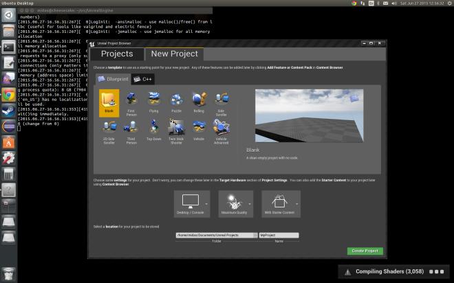 unreal_editor_in_linux_desktop